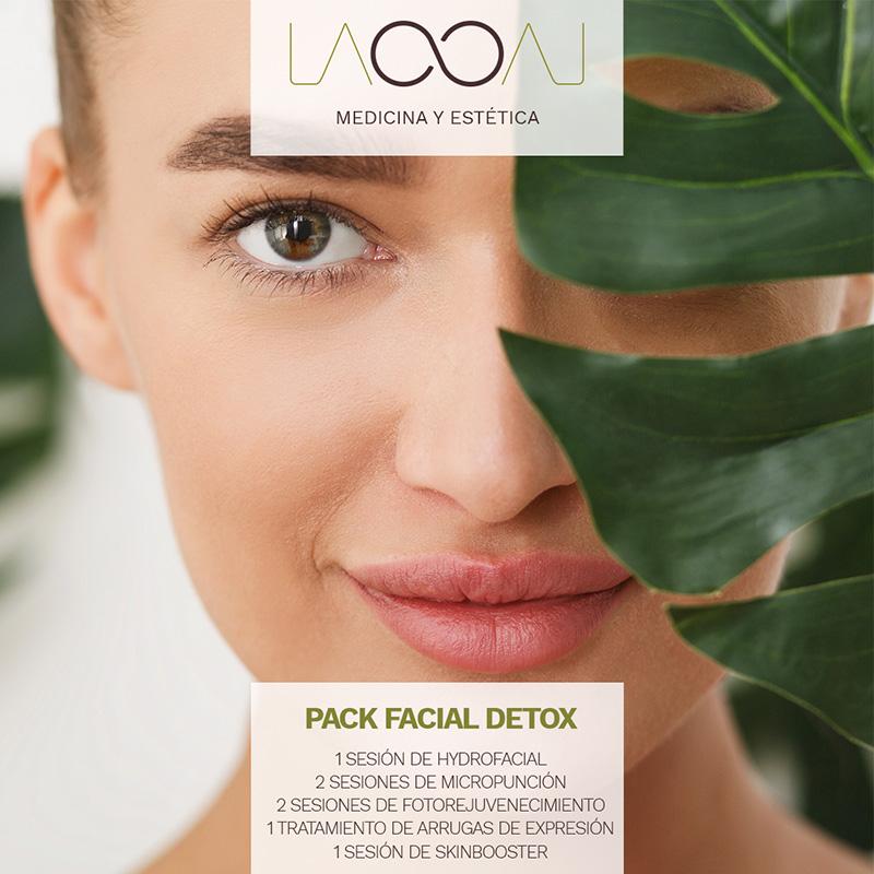 oferta septiembre laooal: pack fcial detox