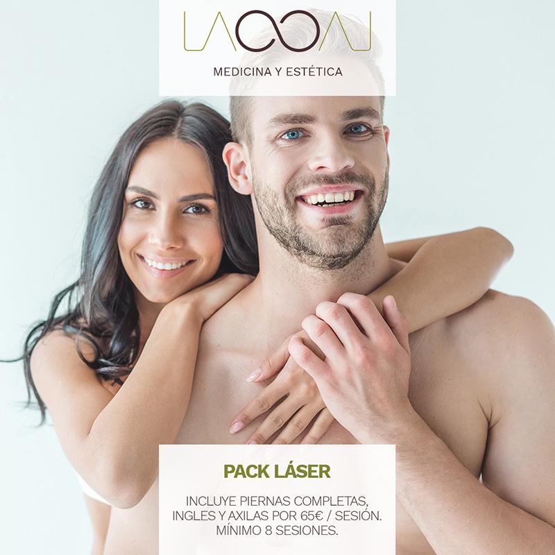 Promoción Laooal en septiembre: pack laser
